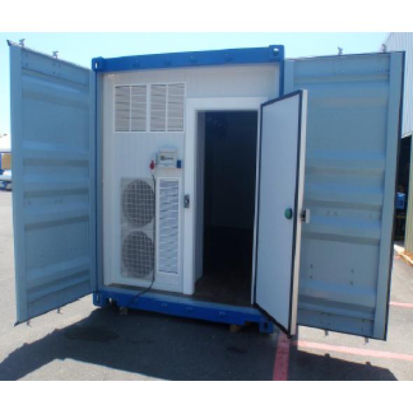 Cámaras portátiles para la conservación de productos varios
